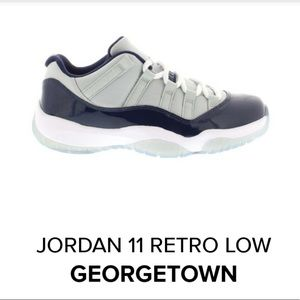 Jordon 11 Retro Low Georgetown
